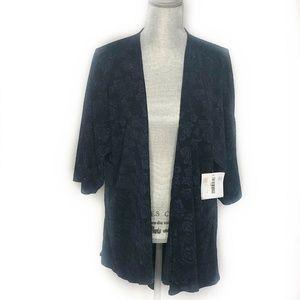 LuLaRoe Sweater Cardigan NWT Jacquard (BB39)